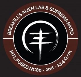 Breakill's Alien Lab / Suprema Ratio - MTL SPOOL 2021- MTLSP FUSED CLAPTON FULL NC80 - 2m