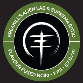 Breakill's Alien Lab / Suprema Ratio - FLAVOUR SPOOL 2021 - FLVSP FUSED CLAPTON FULL NC80 - 2m