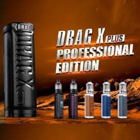 Voopoo - DRAG X PLUS MOD KIT con TPP POD TANK 100W - Professional Edition