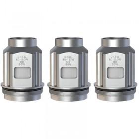 Smoktech - TFV18 Mini Tank DUAL MESH COIL 0.15ohm - PACK 3 RESISTENZE