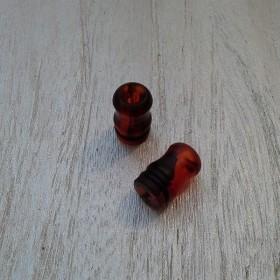 Officine Svapo DRIP TIP OFFICINE Metacrilato - Tartaruga rosso