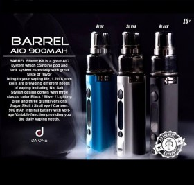 Da One Tech - BARREL STARTER KIT 900mAh