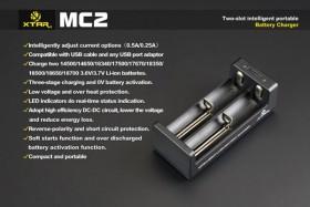 Xtar MC2 Caricabatterie