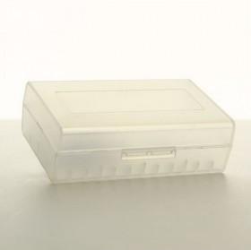 20700/21700 - CUSTODIA PORTA BATTERIA 2 SLOT Plastica