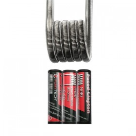 FumyTech prebuilt coil FUSED CLAPTON NI80 0.50ohm ID 3mm 10pcs