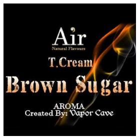 T.CREAM BROWN SUGAR aroma Vapor Cave