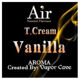 T.CREAM VANILLA aroma Vapor Cave