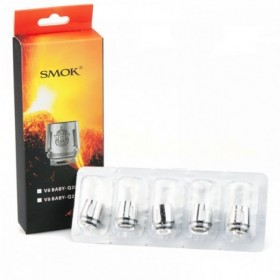Smoktech TFV8 BABY-Q2 (0.4 Ohm) PACK 5 RESISTENZE