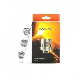 Smoktech TFV8 X-BABY-Q2 (0.4 Ohm) PACK 3 RESISTENZE