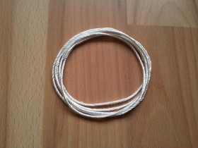 Zivipf Silica Twisted 3mm - 2-5m