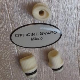 Officine Svapo DRIP TIP HYDRA GALALITE Avorio rigato
