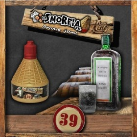 SHOT SERIES - King Liquid - LA SMORFIA n.39 - aroma 30ml